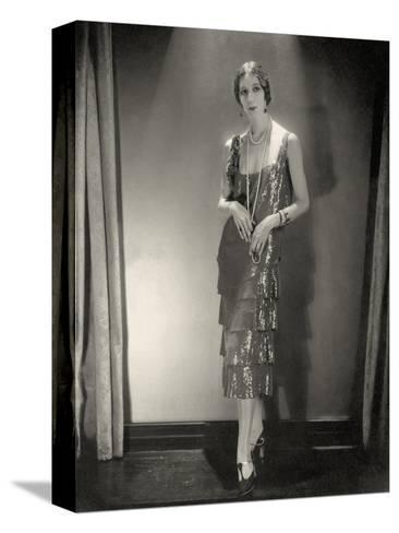 Vogue - November 1925-Edward Steichen-Stretched Canvas Print