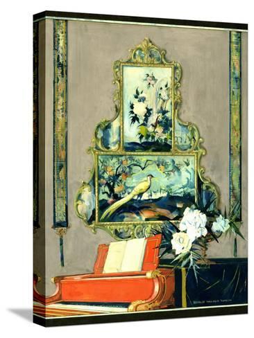 House & Garden - April 1923-Bradley Walker Tomlin-Stretched Canvas Print