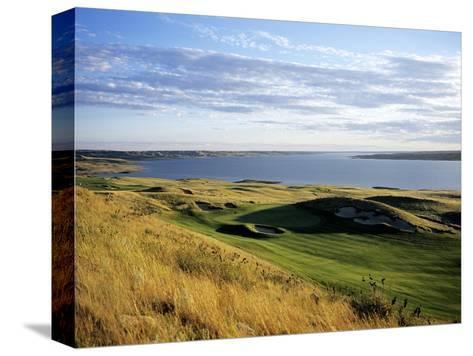 Sutton Bay Golf Club, Hole 15-Stephen Szurlej-Stretched Canvas Print