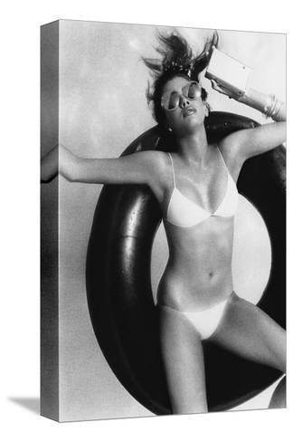 Vogue - May 1977-Albert Watson-Stretched Canvas Print