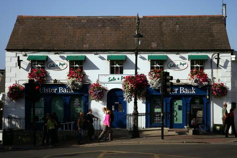 Irish Pub, Ireland-Stephen Szurlej-Stretched Canvas Print