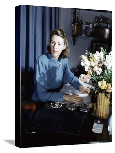 Vogue - September 1942-Horst P. Horst-Stretched Canvas Print