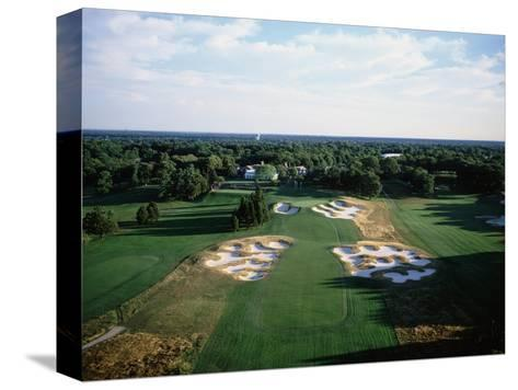 Bethpage State Park Black Course, Hole 18-Stephen Szurlej-Stretched Canvas Print