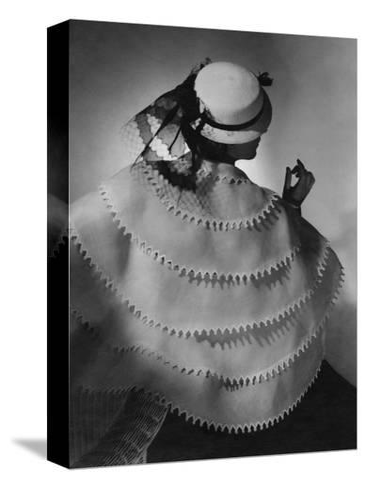 Vogue - April 1935-Horst P. Horst-Stretched Canvas Print