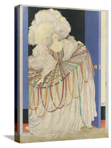 Vogue - May 1920-George Wolfe Plank-Stretched Canvas Print
