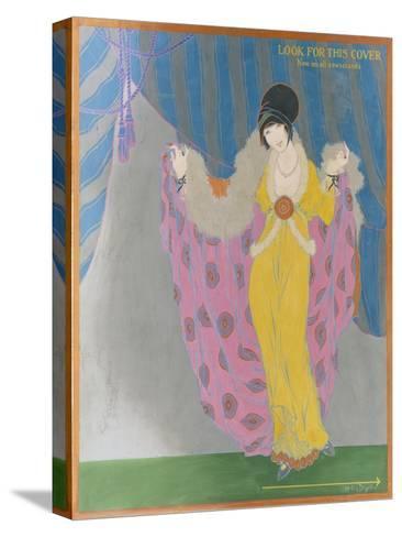 Vogue - October 1913-Helen Dryden-Stretched Canvas Print