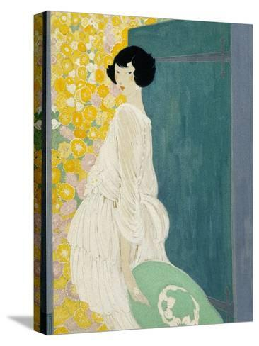 Vogue - May 1920-Helen Dryden-Stretched Canvas Print