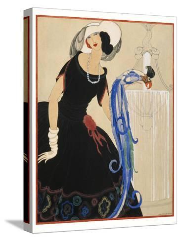 Vogue - June 1921-Helen Dryden-Stretched Canvas Print