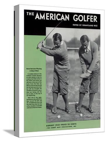 The American Golfer August 1932--Stretched Canvas Print