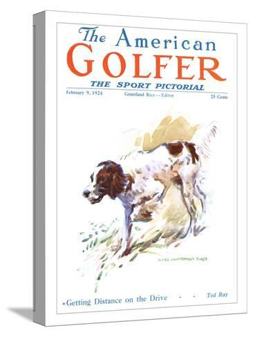 The American Golfer February 9, 1924-James Montgomery Flagg-Stretched Canvas Print