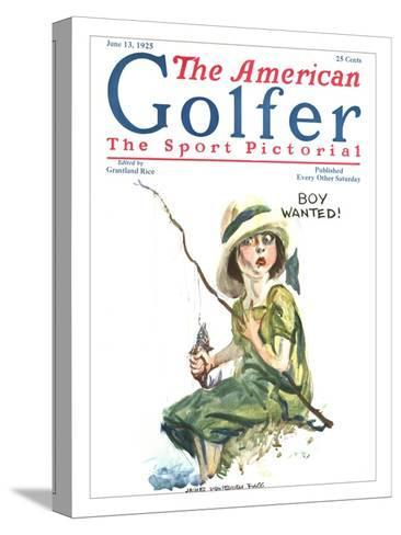The American Golfer June 13, 1925-James Montgomery Flagg-Stretched Canvas Print