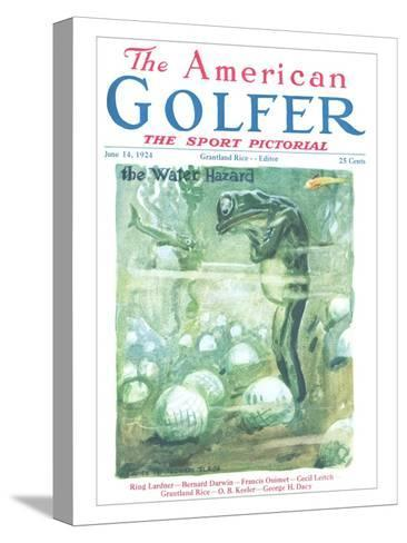 The American Golfer June 14, 1924-James Montgomery Flagg-Stretched Canvas Print