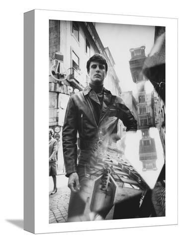 GQ - October 1968-Leonard Nones-Stretched Canvas Print