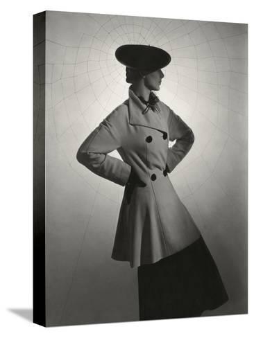 Vogue - March 1936-Horst P. Horst-Stretched Canvas Print