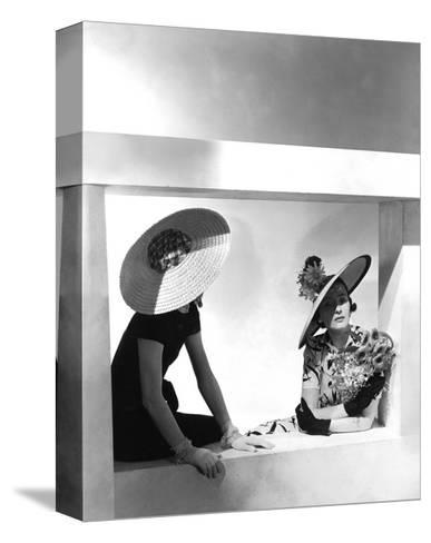 Vogue - May 1937-Horst P. Horst-Stretched Canvas Print