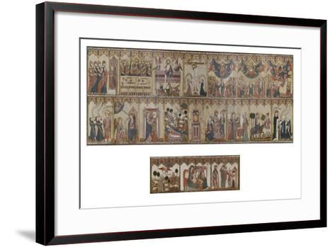 Retable and Frontal of the Life of Christ and the Virgin, Ayala Altarpiece, 1396--Framed Art Print