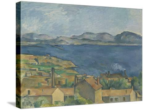 The Bay of Marseille, Seen from L'Estaque, C.1885-Paul Cezanne-Stretched Canvas Print