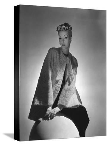 Vogue - November 1938-Horst P. Horst-Stretched Canvas Print