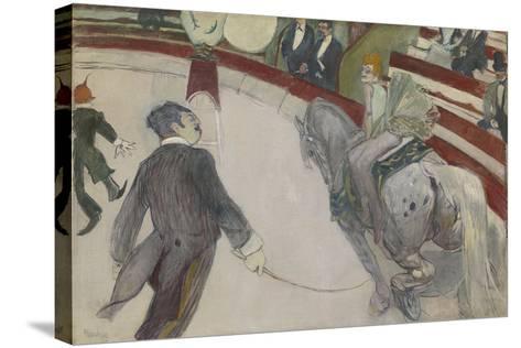 Equestrienne (At the Cirque Fernando), 1887-88-Henri de Toulouse-Lautrec-Stretched Canvas Print