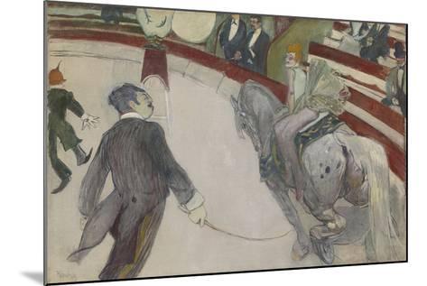 Equestrienne (At the Cirque Fernando), 1887-88-Henri de Toulouse-Lautrec-Mounted Giclee Print