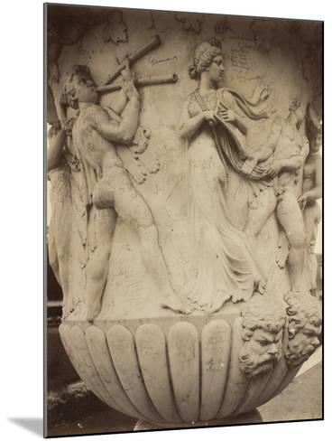 Detail of a Vase at Versailles, 1906-Eugene Atget-Mounted Photographic Print