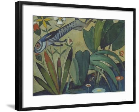 The Leap of the Rabbit, 1911-Amadeu de Souza-Cardoso-Framed Art Print