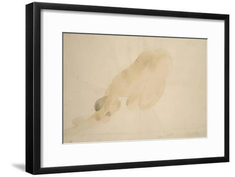 Sunset-Auguste Rodin-Framed Art Print