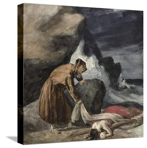 The Tempest, C.1821-23-Theodore Gericault-Stretched Canvas Print