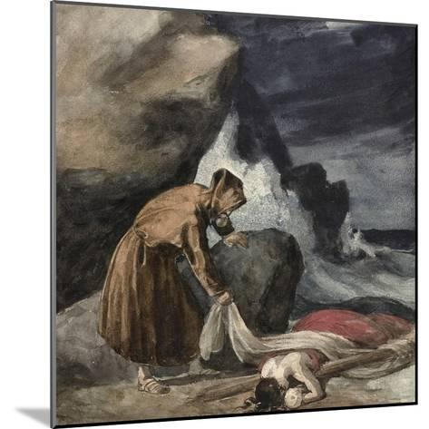 The Tempest, C.1821-23-Theodore Gericault-Mounted Giclee Print