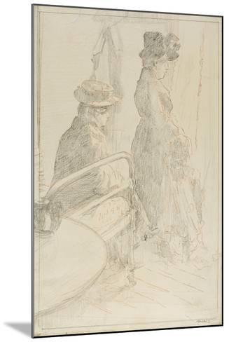 The Passing Funeral, 1912-13-Walter Richard Sickert-Mounted Giclee Print