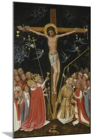 Christ on the Living Cross, 1420-30- Master of Saint Veronica-Mounted Giclee Print