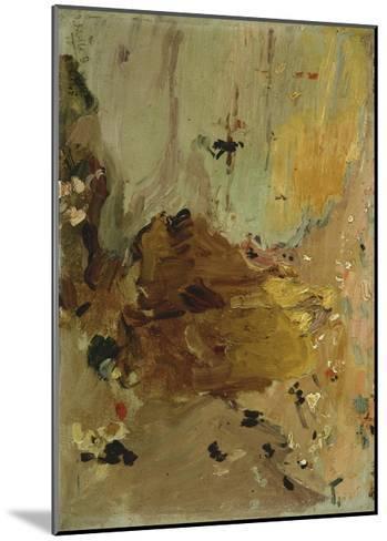 Sketch for Beach Scene, 1906-Joaquin Sorolla y Bastida-Mounted Giclee Print