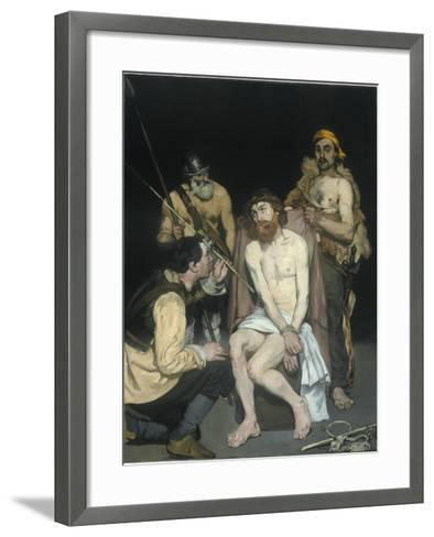 Jesus Mocked by the Soldiers, 1865-Edouard Manet-Framed Art Print