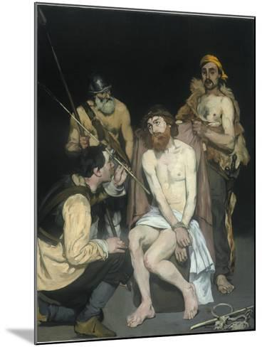 Jesus Mocked by the Soldiers, 1865-Edouard Manet-Mounted Giclee Print
