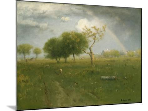 After a Summer Shower, 1894-George Inness Snr.-Mounted Giclee Print