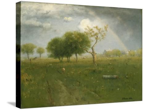 After a Summer Shower, 1894-George Inness Snr.-Stretched Canvas Print