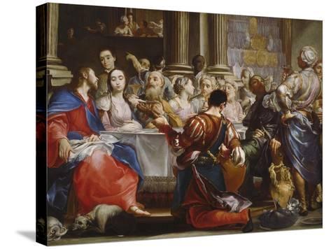 The Wedding at Cana, C.1686-Giuseppe Maria Crespi-Stretched Canvas Print