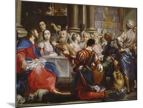 The Wedding at Cana, C.1686-Giuseppe Maria Crespi-Mounted Giclee Print