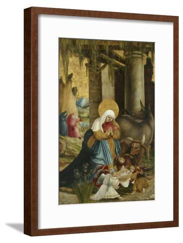 The Nativity, 1507-10-Master of Pulkau-Framed Art Print