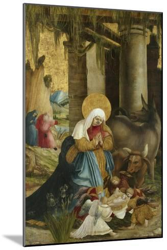 The Nativity, 1507-10-Master of Pulkau-Mounted Giclee Print