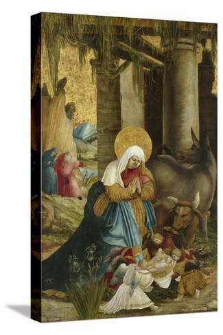 The Nativity, 1507-10-Master of Pulkau-Stretched Canvas Print