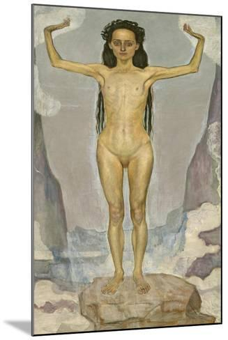 Day (Truth), 1896-98-Ferdinand Hodler-Mounted Giclee Print