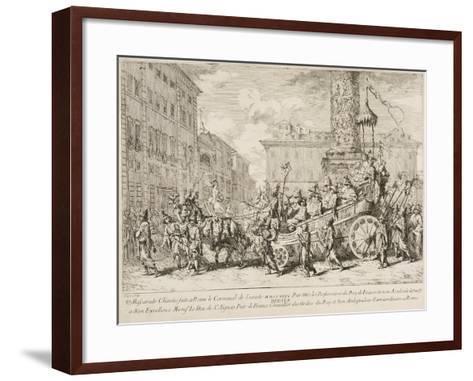 The Chinese Mascarade, 1735-Jean Baptiste Marie Pierre-Framed Art Print