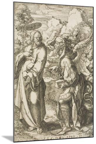 Christ Tempted by the Devil, 1525-Dirk Jacobsz Vellert-Mounted Giclee Print