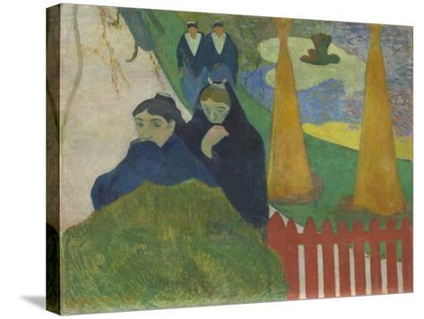 Arlésiennes (Mistral), 1888-Paul Gauguin-Stretched Canvas Print