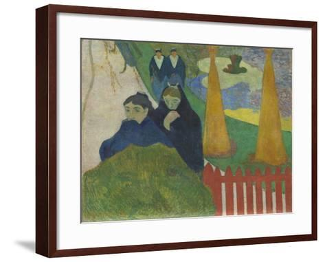 Arlésiennes (Mistral), 1888-Paul Gauguin-Framed Art Print