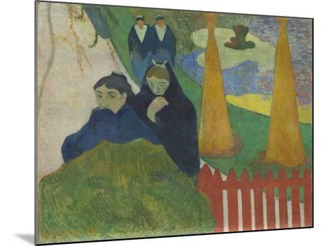 Arlésiennes (Mistral), 1888-Paul Gauguin-Mounted Giclee Print