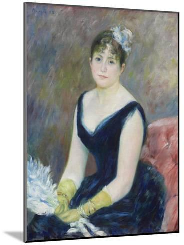Madame L?on Clapisson, 1883-Pierre-Auguste Renoir-Mounted Giclee Print