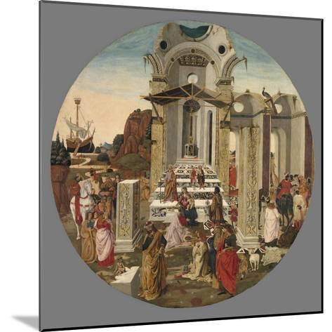 The Adoration of the Magi, C.1495-Raffaello Botticini-Mounted Giclee Print
