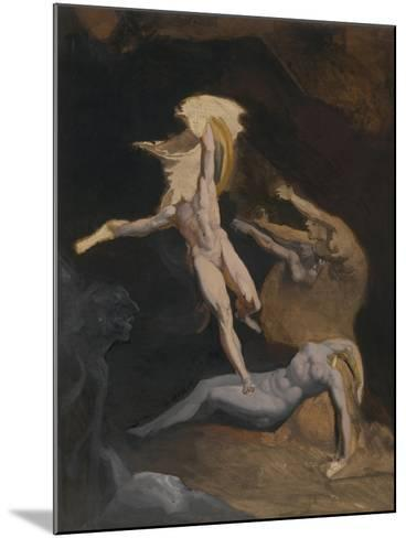 Perseus Slaying the Medusa-Henry Fuseli-Mounted Giclee Print